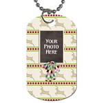 Christmas Dazzle Dog Tag - Dog Tag (One Side)