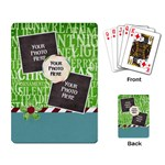Christmas Dazzle Playing Cards 1 - Playing Cards Single Design (Rectangle)
