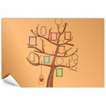 hand drawn photo tree canvas - Canvas 24  x 36