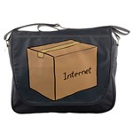 Internet Box Messenger Bag
