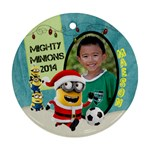 MINION ORNAMENTS MAESON - Ornament (Round)