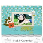 Wall Calendar 11 x 8.5 : Live, Laugh, Love - Wall Calendar 11  x 8.5  (12-Months)
