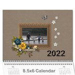 Wall Calendar 8.5 x 6: Together as Family - Wall Calendar 8.5  x 6
