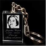 mom3dkey - 3D Engraving Key Chain