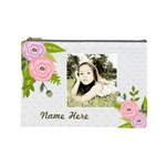 Cosmetic Bag (L): Ranunculus Flowers2 - Cosmetic Bag (Large)