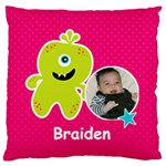 Large Cushion Case (One Side) : Monster 2