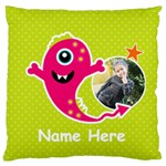 Large Cushion Case (One Side) : Monster 4