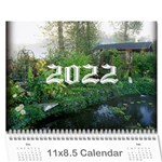 2019 any occassion calendar - Wall Calendar 11  x 8.5  (12-Months)