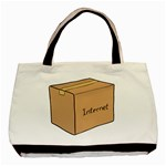 Internet Box Tote - Basic Tote Bag