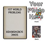 Word Whimsy statement cards - Playing Cards 54 Designs (Rectangle)