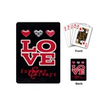Love Cards - Playing Cards Single Design (Mini)