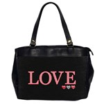 Love Bag - Oversize Office Handbag (2 Sides)