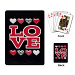 Love Cards - Playing Cards Single Design (Rectangle)