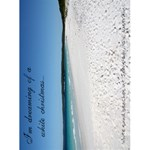 jervis bay christmas card - Greeting Card 4.5  x 6