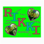rikki bday - Small Glasses Cloth