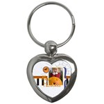halloween - Key Chain (Heart)