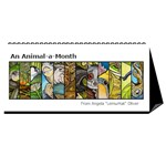 animal-a-month-calendar - Desktop Calendar 11  x 5