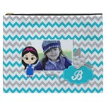 Cosmetic Bag (XXXL): Little Girl