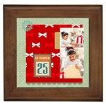 xmas - Framed Tile