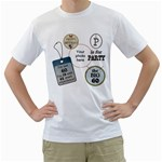 6oth Birthday Mens T-shirt - Men s T-Shirt (White)