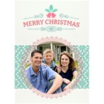 Christmas Sentiments - Greeting Card No. 1 - Greeting Card 5  x 7