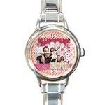 love - Round Italian Charm Watch