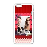 love - iPhone 6/6S White Enamel Case