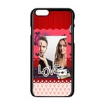 love - iPhone 6/6S Black Enamel Case