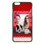 love - Apple iPhone 6 Plus/6S Plus Black Enamel Case