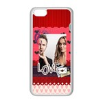 love - iPhone 5C Seamless Case (White)