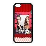 love - iPhone 5C Seamless Case (Black)