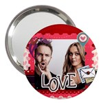 love - 3  Handbag Mirror