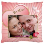 Be Mine Large Flano Cushion Case - Large Flano Cushion Case (Two Sides)