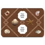 Sea Shells Large Doormat