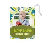 easter - Drawstring Pouch (Large)