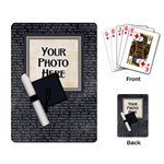 Graduate Playing Cards 1 - Playing Cards Single Design (Rectangle)