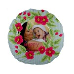 flower kids - Standard 15  Premium Round Cushion