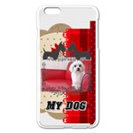 pet - iPhone 6 Plus/6S Plus Enamel White Case