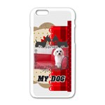pet - iPhone 6/6S White Enamel Case