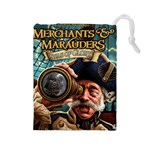 Merchants and Marauders Seas of Glory - Drawstring Pouch (Large)