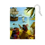 Carcassonne South Seas - Drawstring Pouch (Large)