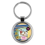 fathers day - Key Chain (Round)
