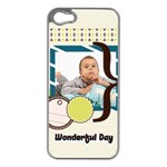 kids - iPhone 5 Case (Silver)