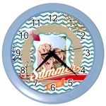 summer - Color Wall Clock
