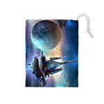 star realms bag - Drawstring Pouch (Medium)
