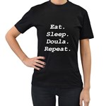 BL doula tee - Women s T-Shirt (Black) (Two Sided)