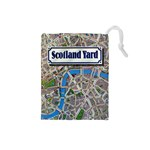 Scotland Yard Tile Drawing Bag SMALL - Drawstring Pouch (Small)