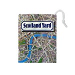 Scotland Yard Tile Drawing Bag MEDIUM - Drawstring Pouch (Medium)