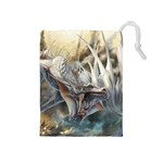 White Dragon Con 2015 - Drawstring Pouch (Medium)