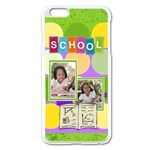school - iPhone 6 Plus/6S Plus Enamel White Case